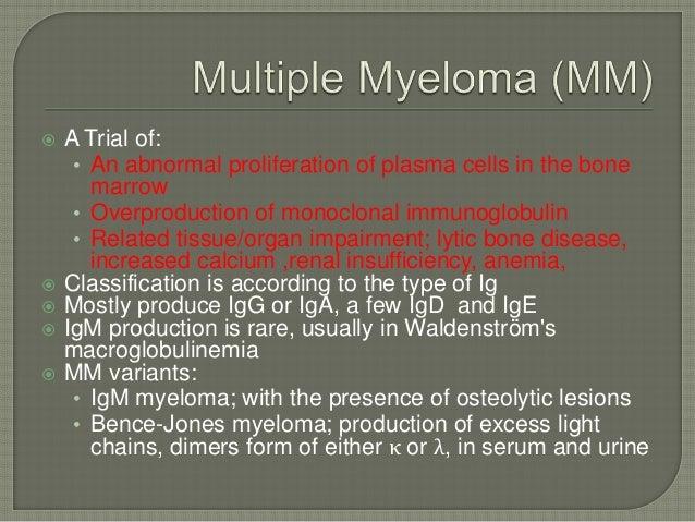 Plasma Cell Dyscrasia
