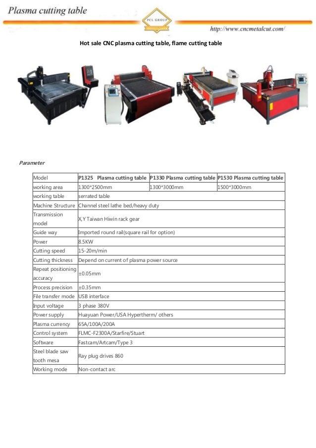 Hot sale CNC plasma cutting table, flame cutting table Parameter Model P1325 Plasma cutting table P1330 Plasma cutting tab...