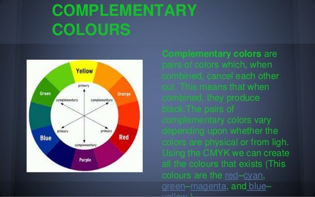 6 Remember PRIMARY COLOURS SECONDARY TERTIARY