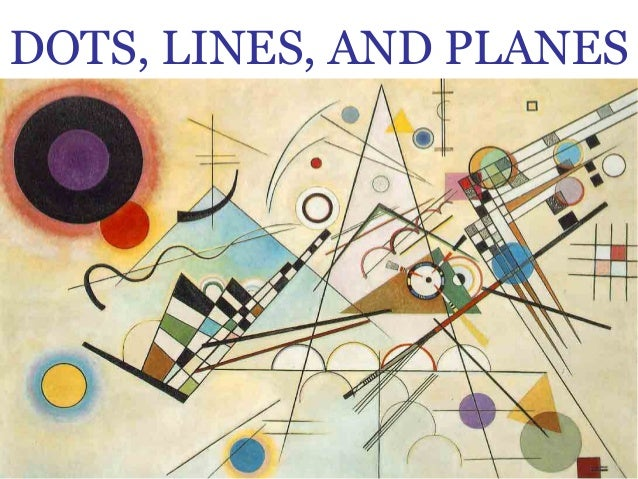 Drawing With Lines And Dots : Lines and planes