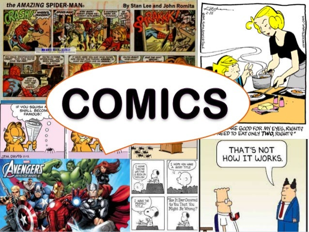 Comics Comics are a visual medium used to express ideas through images. They are often combined with text or visual inform...