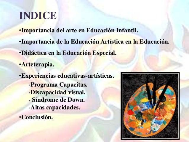 Did ctica en artes en la educaci n especial y personas con for Programa curricular de educacion inicial