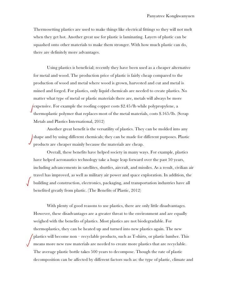 spk plastic essay graded 5 panyatree kongkwanyuenthermosetting plastics