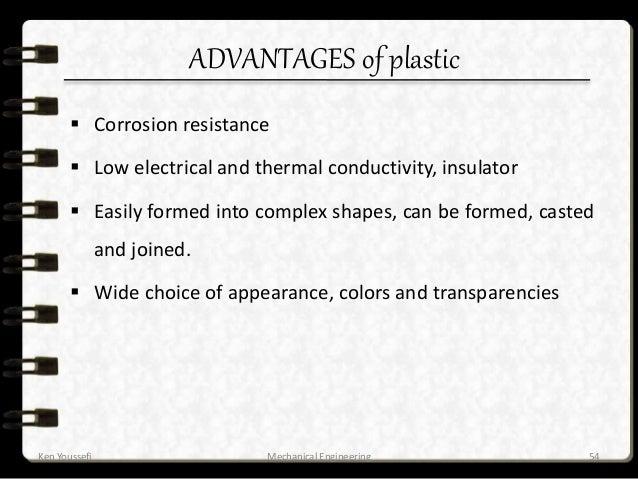 Plastic Advantages And Disadvantages Ppt