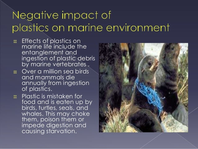negative impacts on our environment Plastics are a part of our daily lives unfortunately, that doesn't mean they're safe  or responsible a closer understanding of the harmful effects of plastic will.