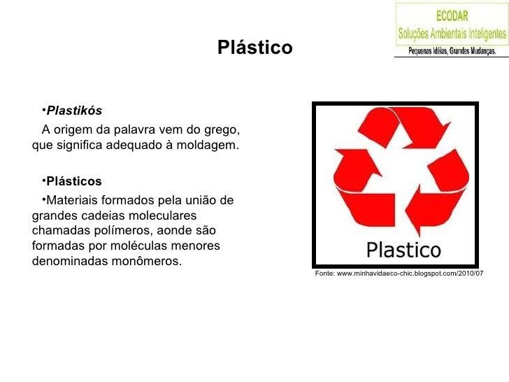 Plástico - PP Slide 3