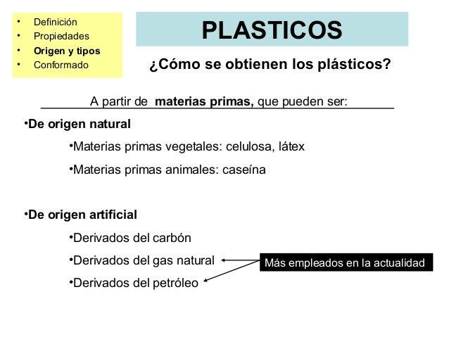Materiales de uso t cnico pl sticos - Inmobiliaria origen ...