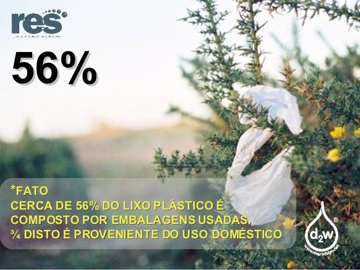 Plasticos e  Meio Ambiente Slide 3