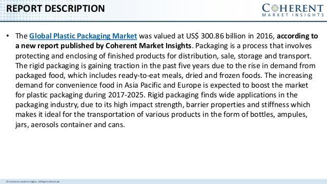Global Plastic Packaging Market to surpass us$ 480.97 billion by 2025 Slide 2