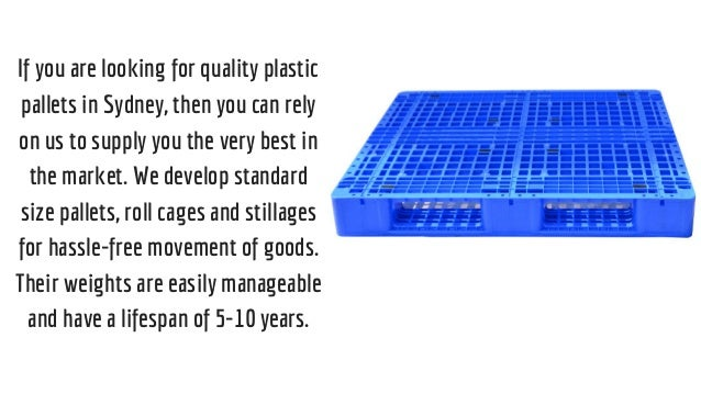 3 If You Are Looking For Quality Plastic Pallets