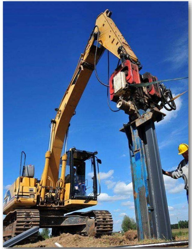 The Hammerman Equipment Piling Mandrels for Plastic Sheet Piling