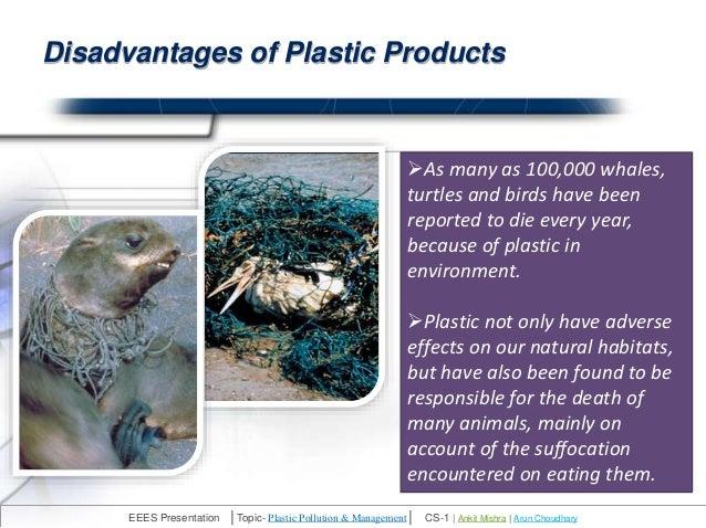 plastic pollution presentation by ankitmishra