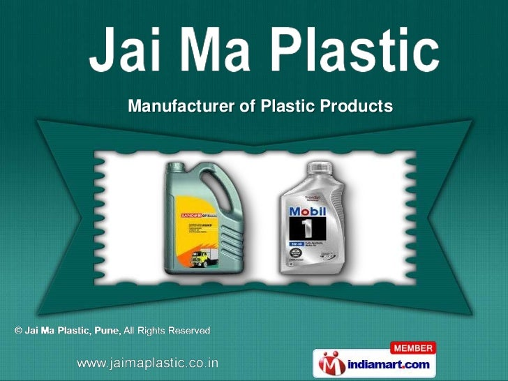 Manufacturer of Plastic Products