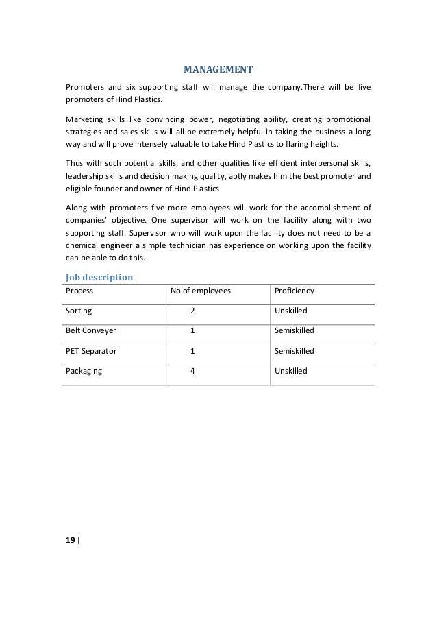 business report sample