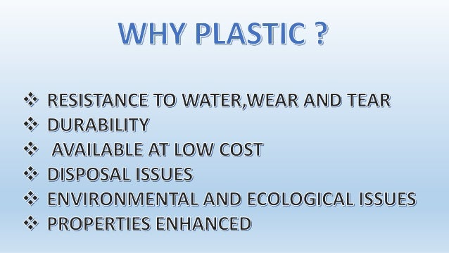 plastic wastes in bituminuospavements These limitations necessitated developing an alternate method for using higher percentage of plastic waste for flexible pavement modified process (dry process) an alternate method was innovated to find an effective way of using higher percentage of plastic waste in the flexible pavement.
