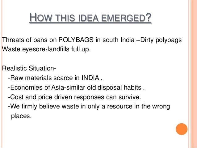 Utilization of Plastics in Roads Slide 2