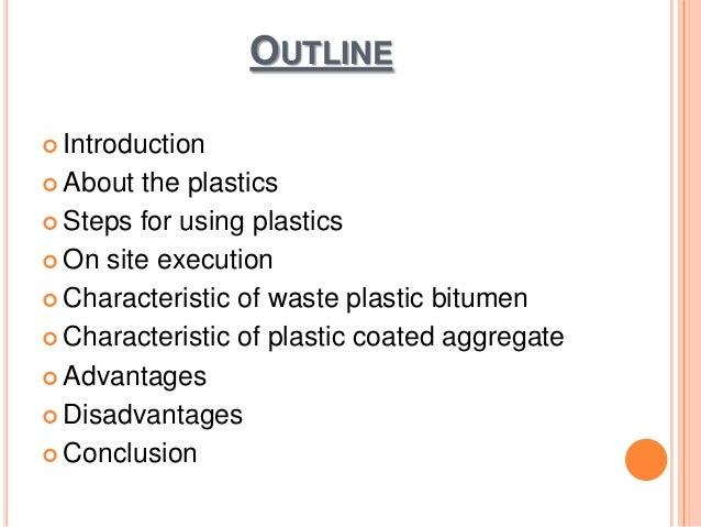 Utilization of Plastics in Roads Slide 3