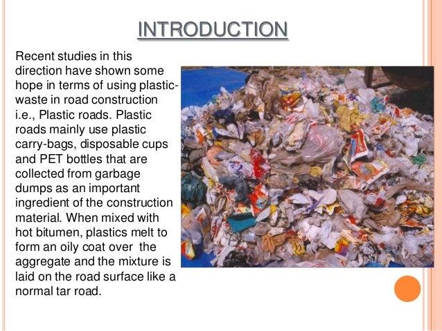 Plastic bags advantages and disadvantages - Utilization Of Plastics In Roads