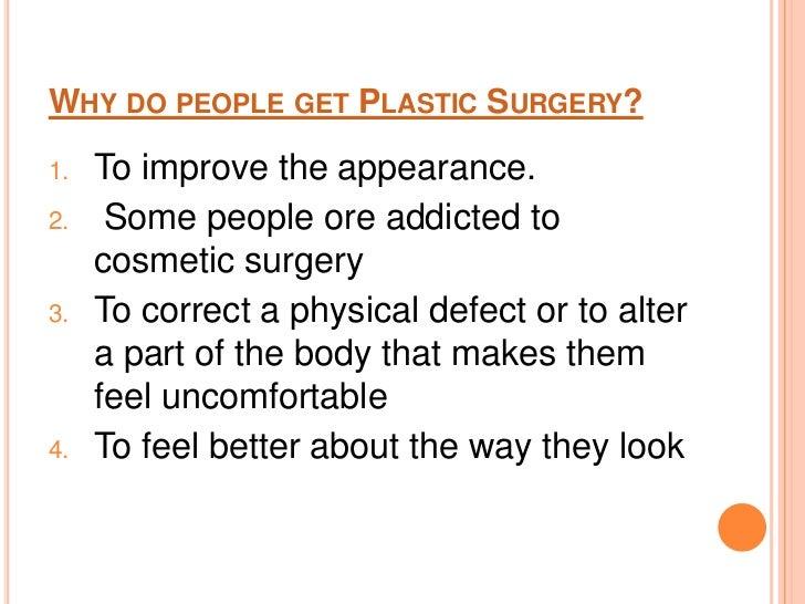 Plastic Surgery U003cbr U003e 3 Why Do People Get Plastic Surgery. Letter Cover ...