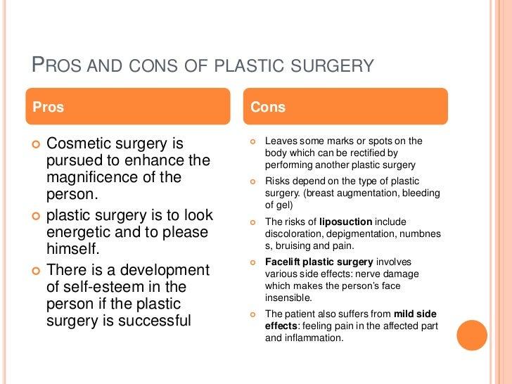 plastic surgery debate