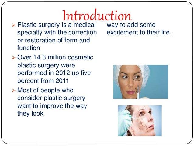 Argumentative essay plastic surgery