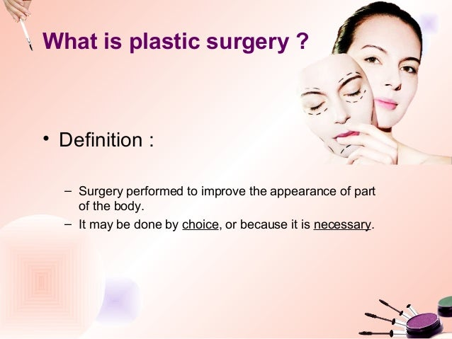 "seeking self esteem through plastic surgery Plastic surgery doesn't seem to be losing in popularity  are seeking out  cosmetic surgeries and augmentations at a growing rate in  ""social media  plays a huge role in impacting self-esteem and drive to alter our bodies."