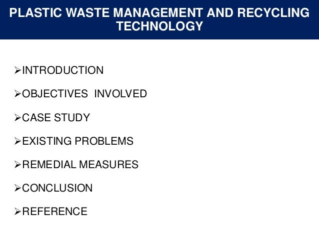 Waste disposal case study