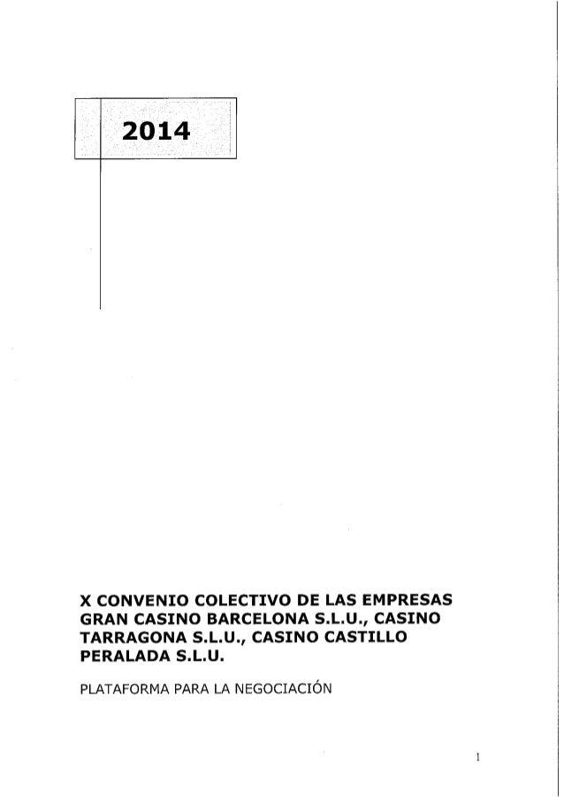 Plataforma casinos 2014