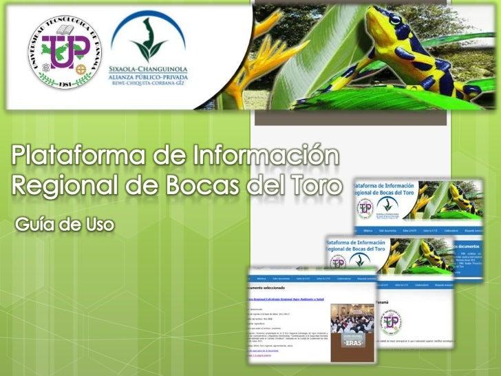 http://www.plataformainfobocas.org