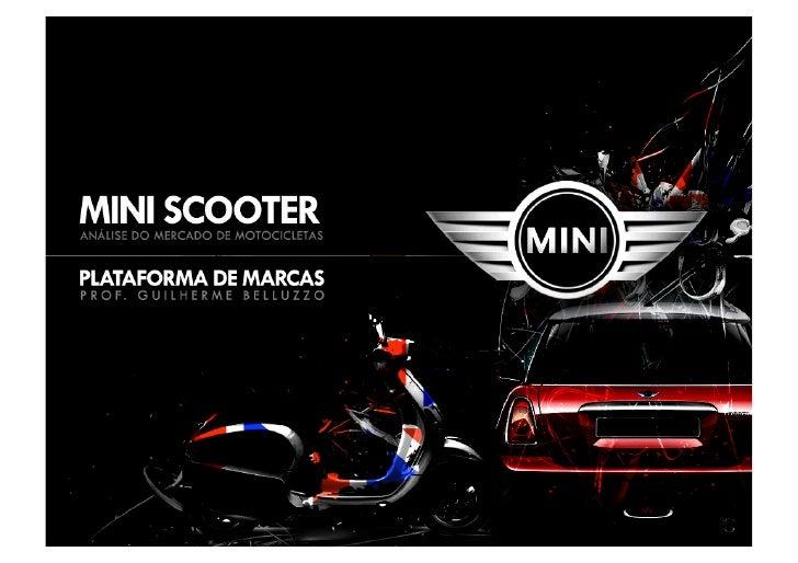 Plataforma de marca   mini scooter
