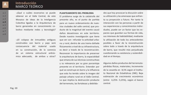 A        Introducción           MARCO TEÓRICO a.1       en detalle al tomar como zona de estu-     aportes de las redes so...