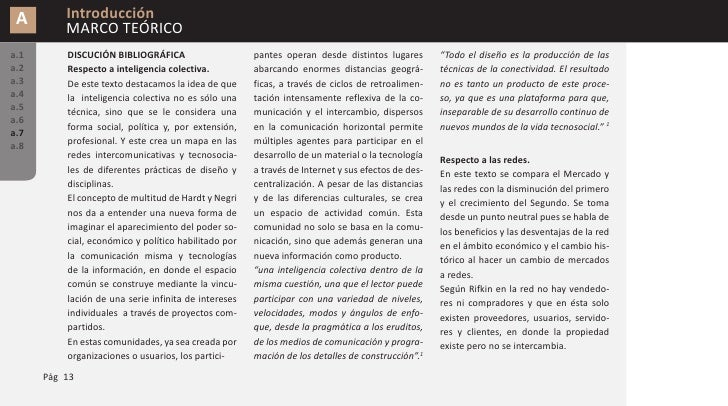 A        Introducción           MARCO TEÓRICO a.1       audiencia pero, al mismo tiempo, no          perspectiva lógica, a...