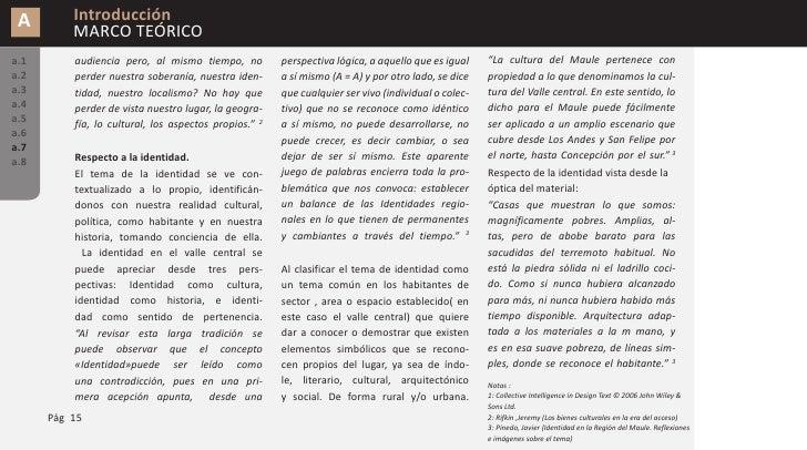 A        Introducción           MARCO TEÓRICO a.1       Sin embargo, hay que diferenciar los         se desarrolla y mejor...