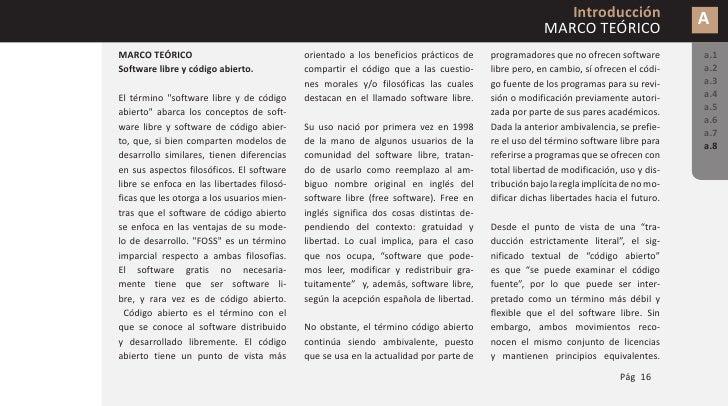 Introducción   A MARCO TEÓRICO                   a.1                   a.2                   a.3                   a.4    ...
