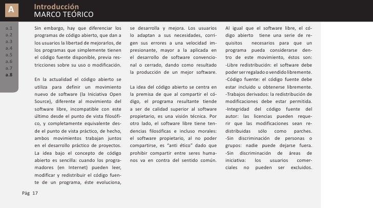 A        Introducción           MARCO TEÓRICO a.1       -Distribución de la licencia: de-            Siguiendo en la línea...