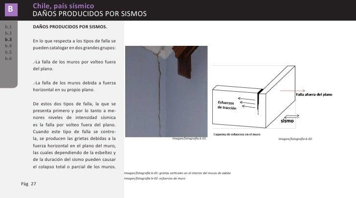 Chile, país sísmico                              B                                                                        ...