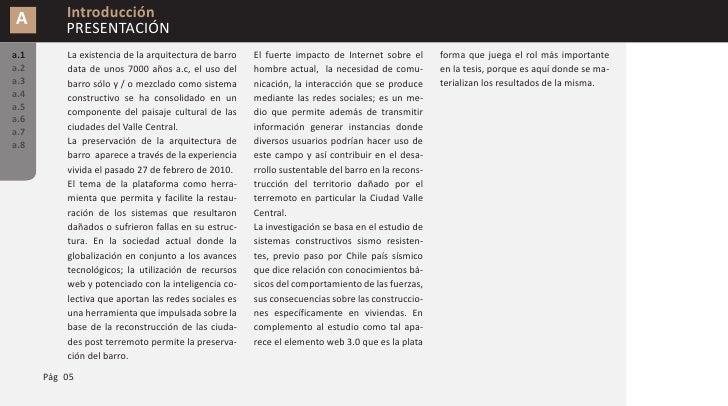 A        Introducción           GLOSARIO a.1       Mosaico de ideas: Es el conjunto de ideas      Web 3.0: es un neologism...