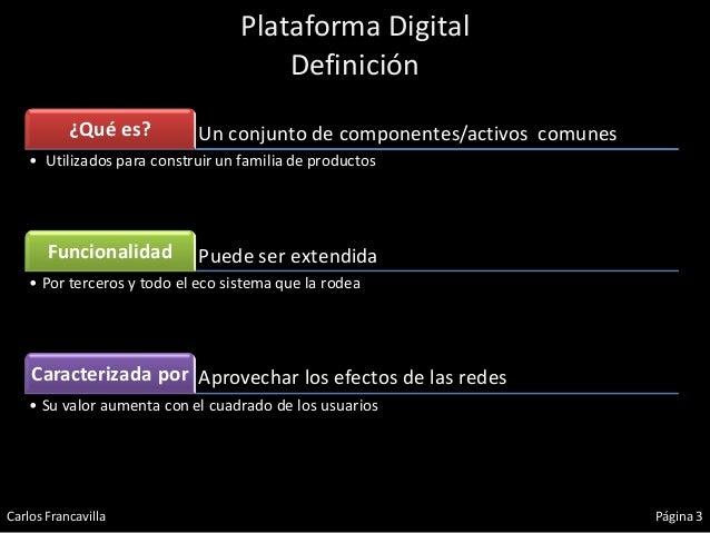Plataforma Digital - Breve Introducción  Slide 3