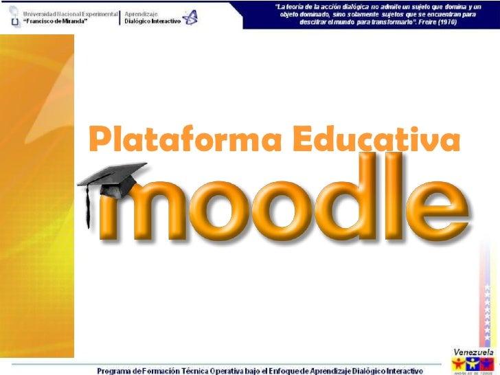 Plataforma moodle for Que es una pagina virtual
