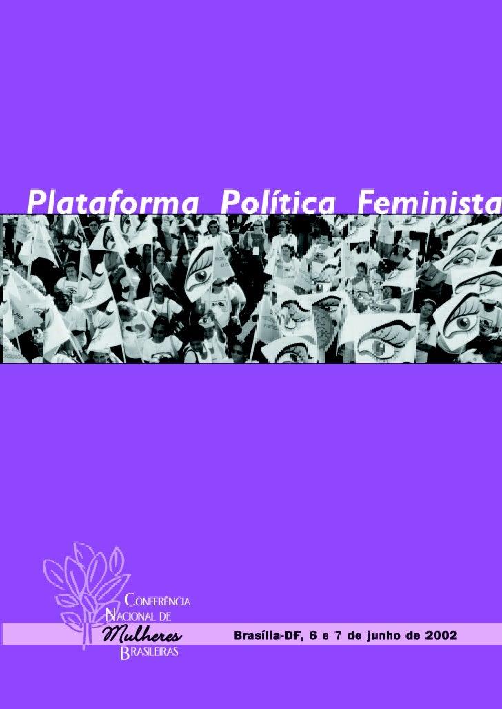 COMISSÃO ORGANIZADORA NACIONALAMB – Articulação de Mulheres BrasileirasRua Real da Torre, nº 593 - Madalena50.610-000 Reci...