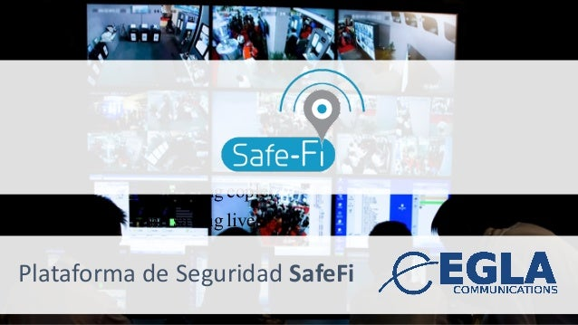 PlataformadeSeguridadSafeFi Connecting eople and saving lives