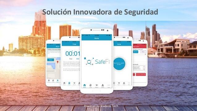 SafeFi – AplicaciónMóvil SafeFi tienesuaplicaciónmóvilqueesutilizadaporunusuarioalencontrarsecon unasituaci...