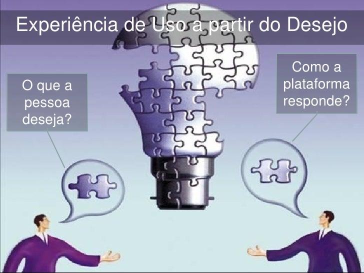 Como a plataforma responde?À DESCOBERTA (Invenção)   Expõe o desejo ou projeto à interação   Enseja a formação de uma co...