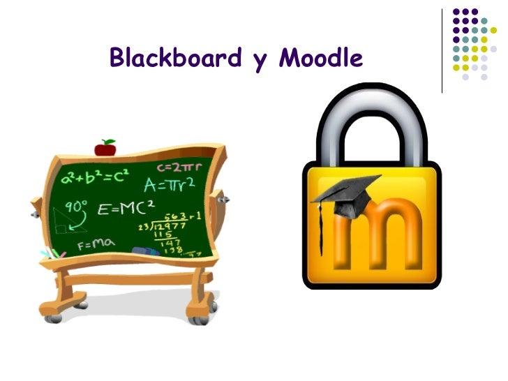 Blackboard y Moodle
