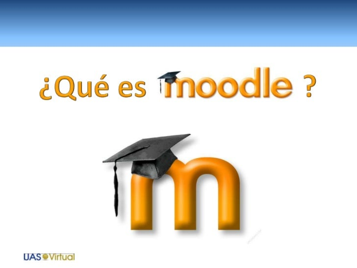 Moodle es una aplicación para creary gestionar ambientes educativos, esdecir, espacios donde una institucióno empresa, ges...