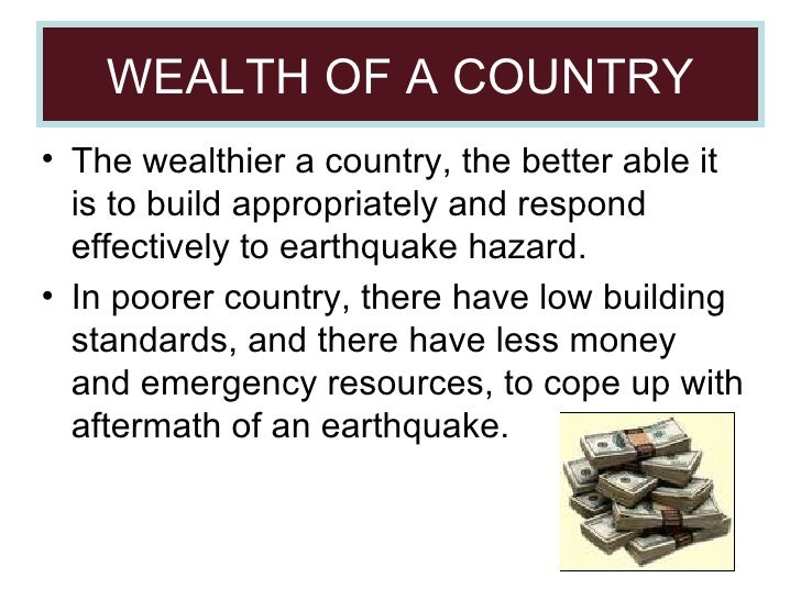 who copes better with earthquakes hics who copes better with earthquakes: hic or lic this report will focus on examples of different earthquakes happening around the world and explain why some countries cope better than others to cope well, the country should have low death tolls, good communication with rescue services and other countries willing to help, evacuation.