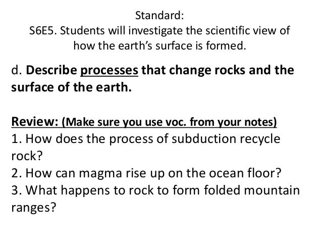 Plate boundaries stresses faults ppt for How does subduction change the ocean floor