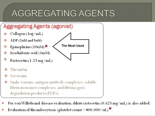 Platelet Aggregation