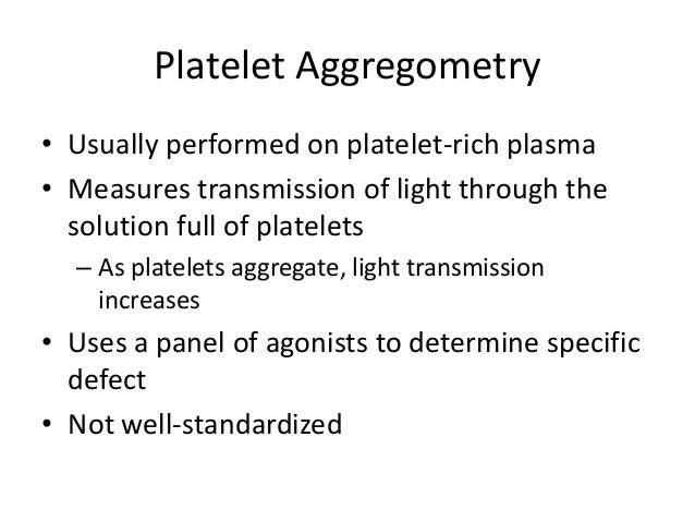Inherited Platelet Dysfunction