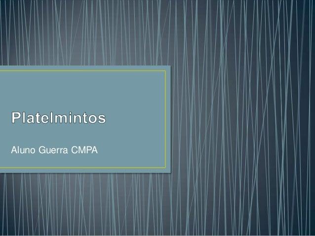 Aluno Guerra CMPA